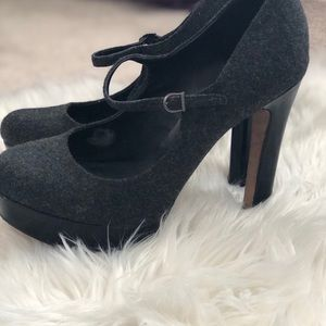 Vince Camuto Shoes - Grey Vince Camuto Mary Jane pumps